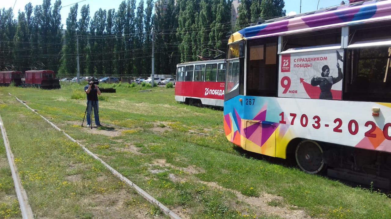 Трамвайное депо посетили представители СМИ и администрация города