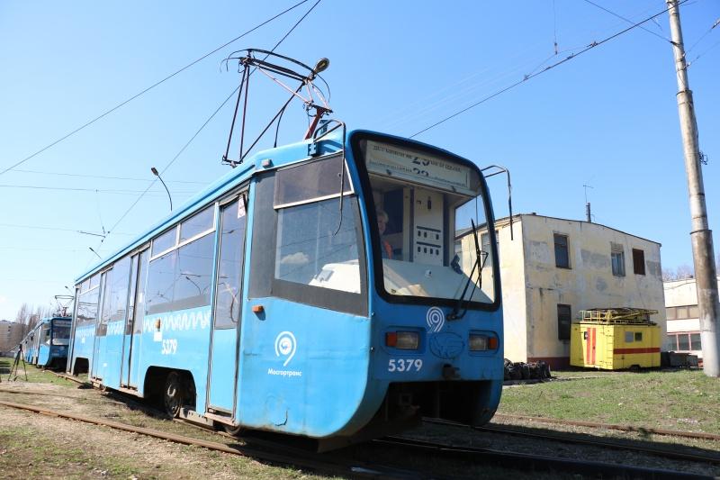 Уже скоро на линию выйдут московские трамваи